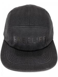 <strong>FREELIFE LA</strong>FREELIFE MIDNIGHT 5PANEL CAMP CAP<br>BLACK