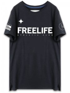 <strong>FREELIFE LA</strong>FREELIFE FLAGSHIP T-SHIRT<br>BLACK