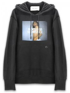 <strong>YOUTH MACHINE</strong>HOPELESS ROMANCE SWEAT HOODIE<br>BLACK