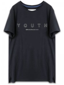 <strong>YOUTH MACHINE</strong>VIRGINS T-SHIRT<br>BLACK