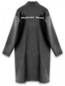 <strong>Physical Novel</strong>WOOL OVER COAT<br>BLACK