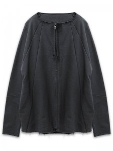 <strong>Physical Novel</strong>CROPPED HOODLESS JACKET<br>BLACK