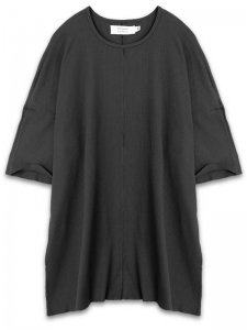 <strong>daniel patrick</strong>OVERSIZED TEE THERMAL<br>BLACK