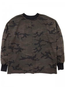 <strong>daniel patrick</strong>OVERSIZED HERO SWEAT ii<br>DARK CAMO
