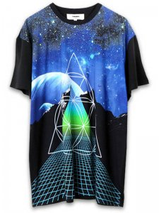<strong>PARADOX TOKYO</strong>GLITCH GRAPHIC BIG TEE<br>GLITCH