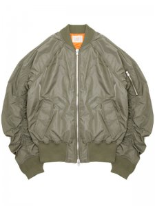 <strong>FOG | FEAR OF GOD</strong>RAGLAN BOMBER JACKET<br>EARTH KHAKI