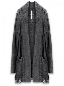 <strong>First Aid To the Injured</strong>APEX KNIT CARDIGAN<br>BLACK