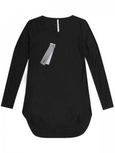 <strong>First Aid To the Injured</strong>CLAVICLE BLOUSE LONG SLEEVE T-SHIRT<br>BLACK