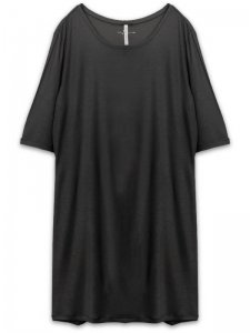 <strong>First Aid To the Injured</strong>LUNATE LONG T-SHIRT<br>BLACK