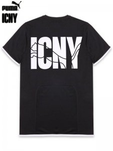 <strong>ICNY × PUMA</strong>ICNY LOGO T-SHIRT<br>BLACK