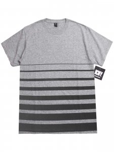 <strong>ICNY</strong>GRADIENT T-SHIRT<br>HEATHER GREY