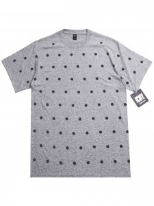 <strong>ICNY</strong>POLKA DOT T-SHIRT<br>HEATHER GREY