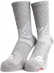 <strong>ICNY</strong>HALF CALF ORIGINAL DOT SOCKS<br>HEATHER GREY