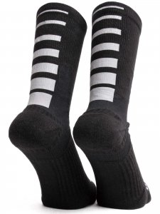<strong>ICNY</strong>HALF CALF GRADIENT SOCKS<br>BLACK