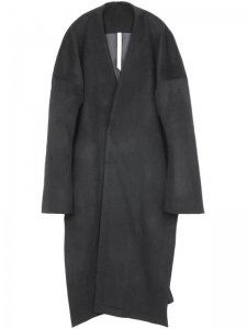 <strong>by H. New York</strong>DRIPPER PANELLED LIGHT WEIGHT COAT<br >BLACK