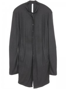 <strong>by H. New York</strong>LINE+ MANDARIN COLLAR KNIT JACKET<br >BLACK