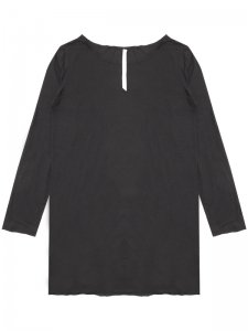 <strong>by H. New York</strong>FA-T LOOSE FIT  LONG SLEEVE T-SHIRT<br >BLACK