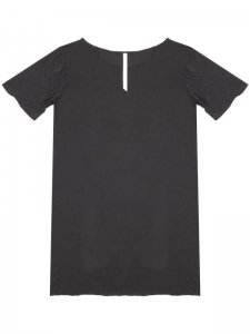 <strong>by H. New York</strong>FA-T LOOSE FIT  SHORT SLEEVE T-SHIRT<br >BLACK