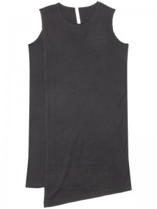 <strong>by H. New York</strong>SHADE RAW EDGE LAYERED TANK-TOP<br >BLACK