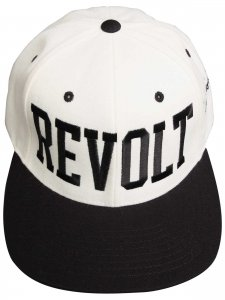 <strong>(2)THINGS</strong>REVOLT CAP<br>NAT.WHITE × BLACK