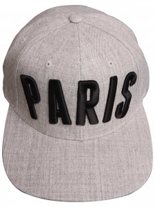 <strong>(2)THINGS</strong>PARIS CAP<br>HEATHER GRAY
