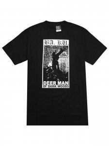 <strong>BARRIER KULT</strong>DEER MAN T-SHIRT<br>BLACK