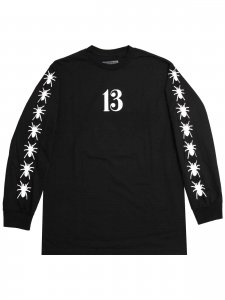 <strong>BEEN TRILL</strong>13 SPIDER WEB LONG SLEEVE T-SHIRT<br>BLACK
