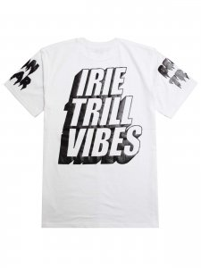 <strong>BEEN TRILL</strong>IRIE TRILL VIBES T-SHIRT<br>WHITE