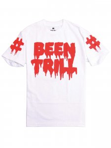 <strong>BEEN TRILL</strong>MALL RATS T-SHIRT<br>WHITE
