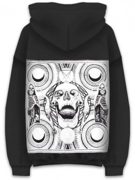 <strong>CVLT NATION</strong>EXODUS TO EVIL HOODIE SWEAT<br>BLACK