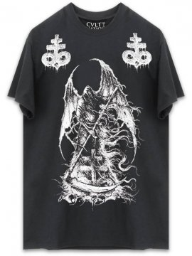 <strong>CVLT NATION</strong>CURSED T-SHIRT<br>BLACK