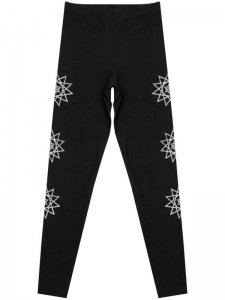 <strong>CVLT NATION</strong>SERPENT SHADOW LEGGINGS<br>BLACK