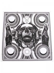 <strong>CVLT NATION</strong>EXODUS TO EVIL BANDANNA<br >WHITE × BLACK