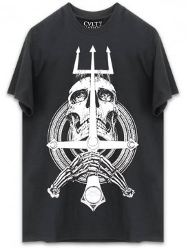 <strong>CVLT NATION</strong>CHAOS A.D. T-SHIRT<br>BLACK