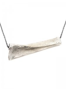 <strong>GASPARD HEX PARIS</strong>Bone Necklace<br>Silver Plated