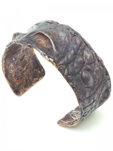 <strong>GASPARD HEX PARIS</strong>Saurian Cuff<br>Oxidized Bronz
