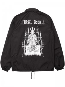 <strong>DEATH BY METAL</strong>Barrier Kult × Death By Metal COACH JACKET<br>BLACK