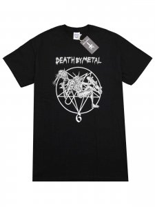 <strong>DEATH BY METAL</strong>Galeria de muerte 6th anniversary T-SHIRT<br>BLACK
