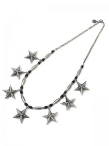 <strong>GARA</strong>CORN STAR NECKLACE<br>SILVER