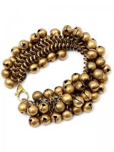 <strong>GARA</strong>MAGELLAN BELL BRACELET<br>GOLD