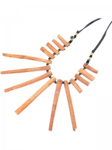 <strong>GARA</strong>AROMA STICK NECKLACE<br>BROWN