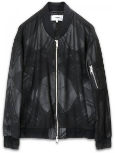 <strong>PARADOX TOKYO</strong>CLEAR GRAPHIC BLOUSON<br>GEO-NOISE