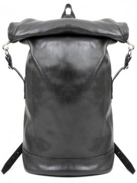 <strong>rewords/rewordsdesign</strong>LEATHER BACKPACK YA1<br>BLACK