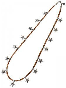 <strong>GARA</strong>LONG STAR NECKLACE<br>SILVER