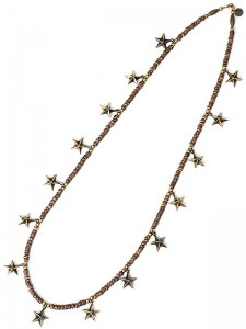 <strong>GARA</strong>LONG STAR NECKLACE<br>GOLD