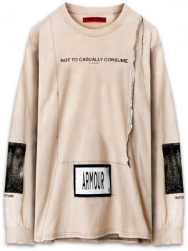 <strong>ARMOUR IN HEAVEN</strong>PULSE LONG SLEEVE T-SHIRT<br >LT SALMON