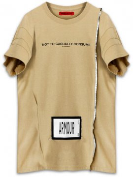 <strong>ARMOUR IN HEAVEN</strong>PULSE SHORT SLEEVE T-SHIRT<br >SAND BEIGE