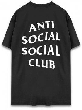 <strong>ANTI SOCIAL SOCIAL CLUB</strong> LOGO TEE TWO T-SHIRT <br>BLACK/WHITE