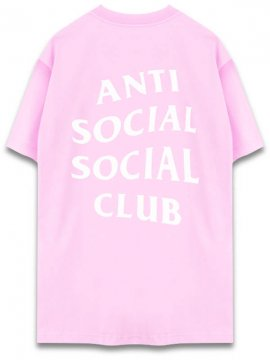 <strong>ANTI SOCIAL SOCIAL CLUB</strong> LOGO TEE TWO T-SHIRT <br>LIGHT PINK
