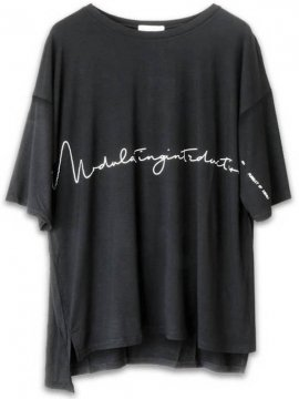 <strong>NIL DUE / NIL UN TOKYO</strong>OVERSIZED CREW TEE<br>BLACK
